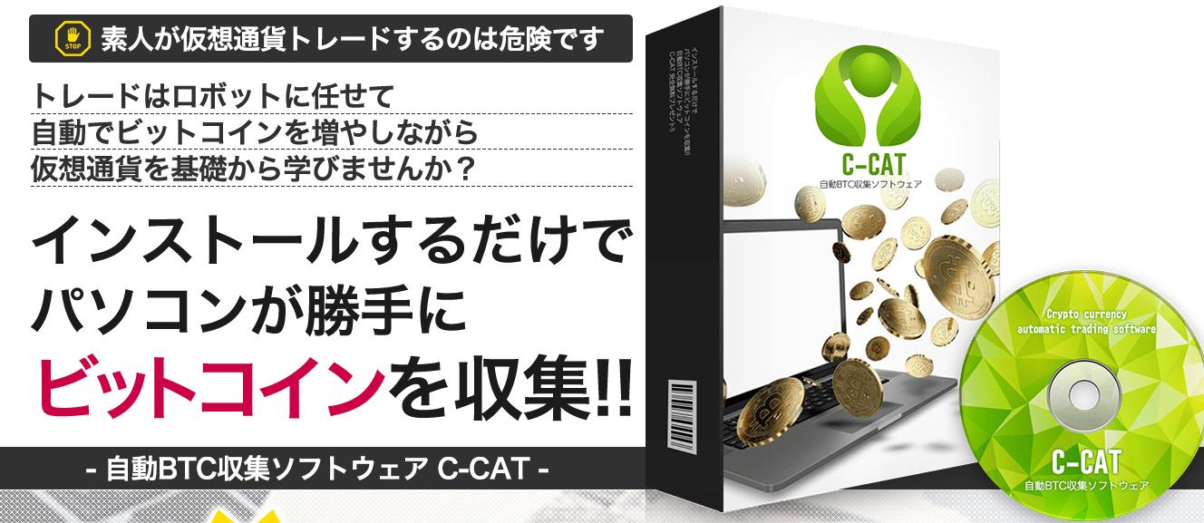 仮想通貨自動売買システム【C-CAT】まとめ